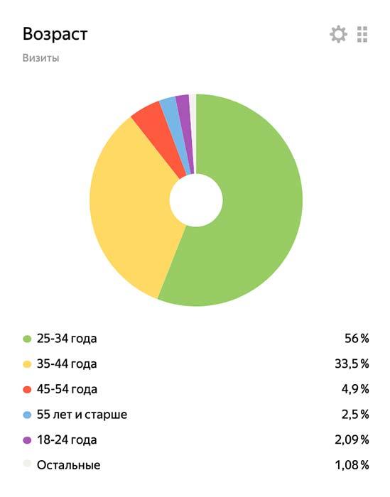 изображение кейс анализ аудитории сайта